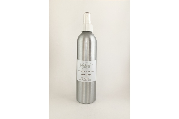 ORGANIC VEGAN Lavender Hydrating Toner Metal Bottle